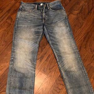 Banana Republic Straight Fit Light Wash Jeans31/32